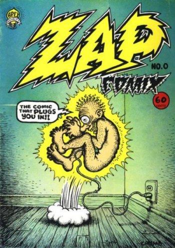 comic underground cultura crumb zap comix
